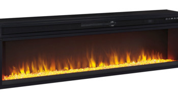 National Mattress Wide Fireplace Insert