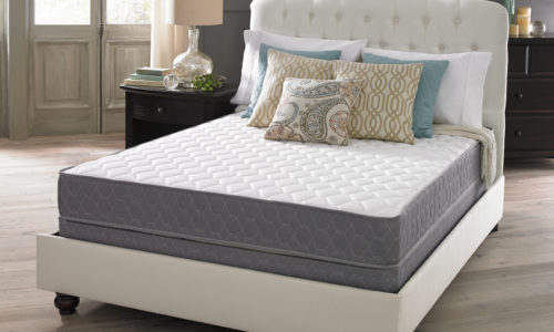 Crazy Quilt Firm Mattress Set