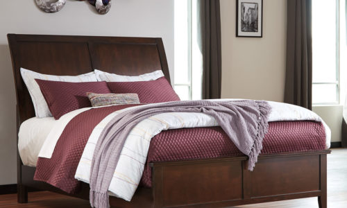 Evanburg Panel Headboard/Footboard Set